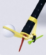 Upright Golf BackTee